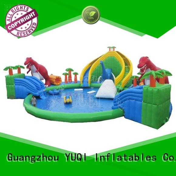 reliable throughout inflatable park slide YUQI Brand company
