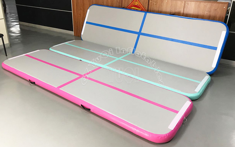 YUQI-Cheap Inflatable Gymnastics Track Factory Floor Tumbling Mat