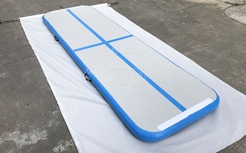 YUQI-Cheap Inflatable Gymnastics Track Factory Floor Tumbling Mat-1