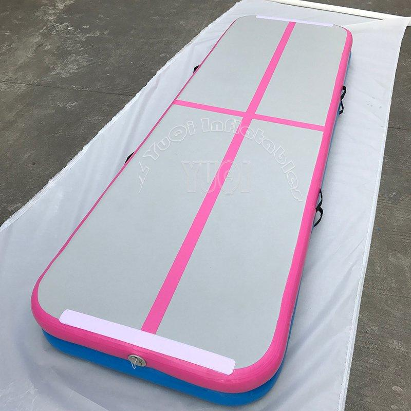 Very Popular Inflatable Air Track Factory Wholesale Gym Mat Air Tumble Track For Sale YQ68