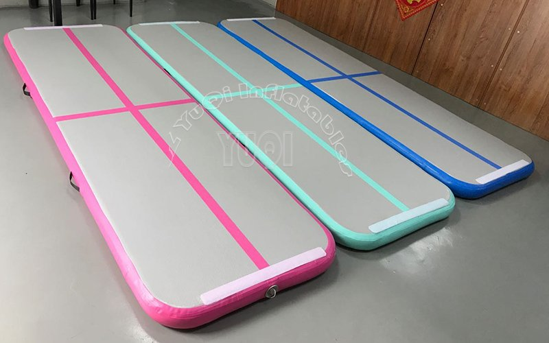 YUQI-Very Popular Inflatable Gymnastics Track Factory Wholesale Gym Mat