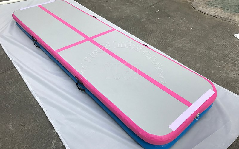 YUQI-Very Popular Inflatable Gymnastics Track Factory Wholesale Gym Mat-1