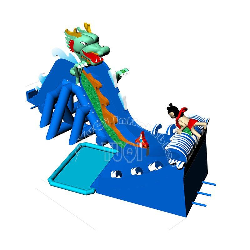 Reliable PVC Custom Kids Throughout Inflatable Water Park YQ73