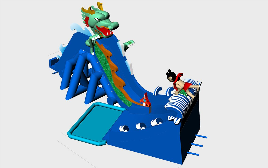 YUQI-Double Stitching Manufacturer Factory Price For Inflatable Park