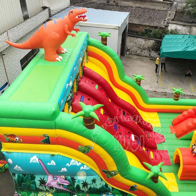inflatable fun city Giant inflatable amusement park  Outdoor playground