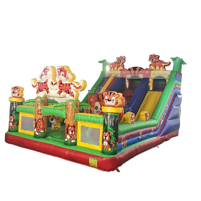 Inflatable tiger amusement park
