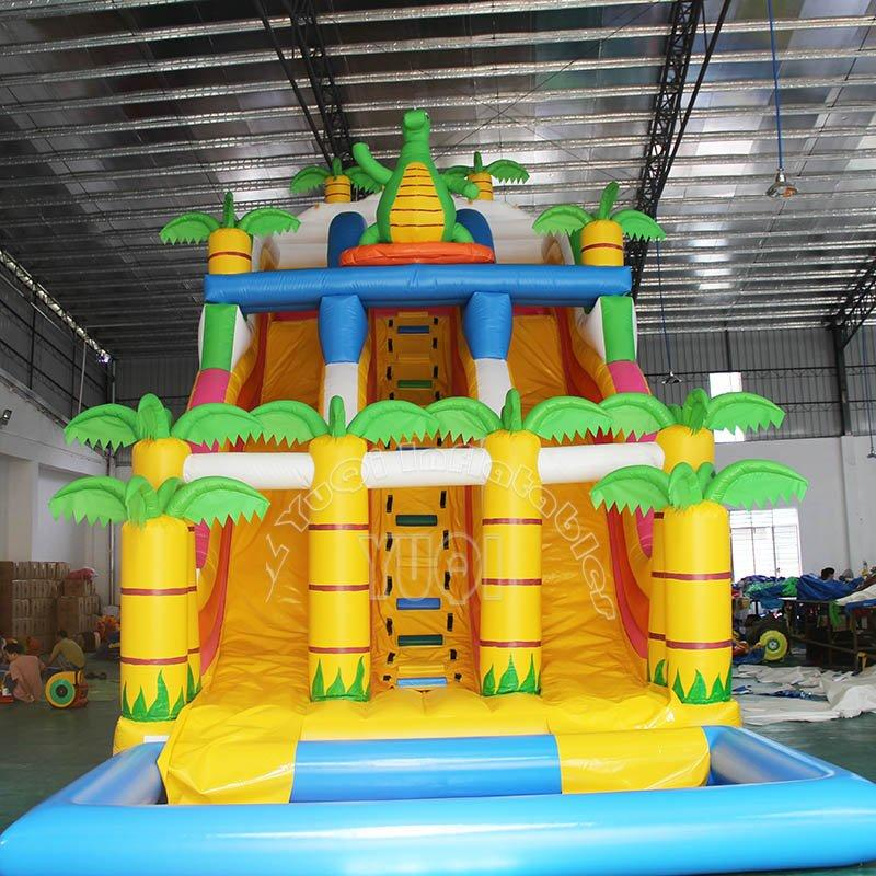 New design Giant Inflatable Slide adult size inflatable water slide for sale YQ16