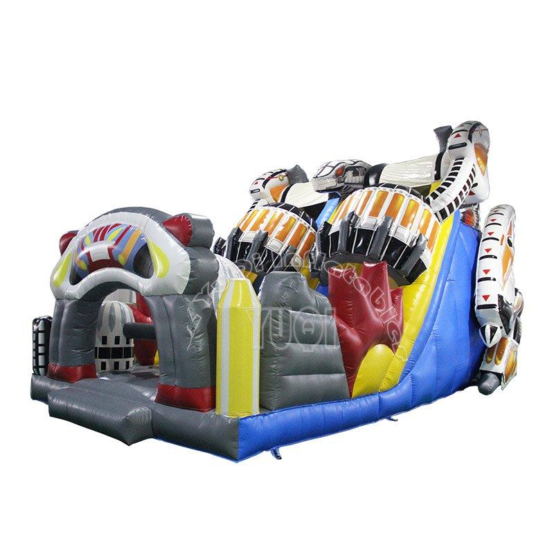 Guangzhou Inflatable Robot Slide Super Slide For Party And Amusement Park YQ17