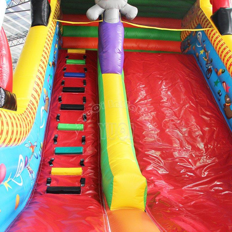 Giant inflatable children slide inflatable clown slide for sale YQ18