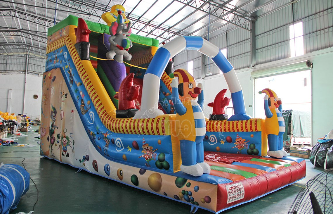 YUQI-High-quality Giant Inflatable Children Slide Inflatable Slide