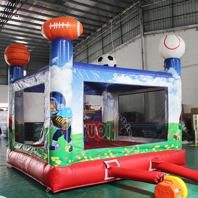 Most popular soccer design inflatable bouncer castle for sale YQ7
