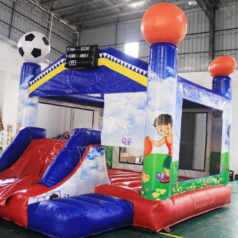 Most popular soccer design inflatable bouncer castle for sale YQ7