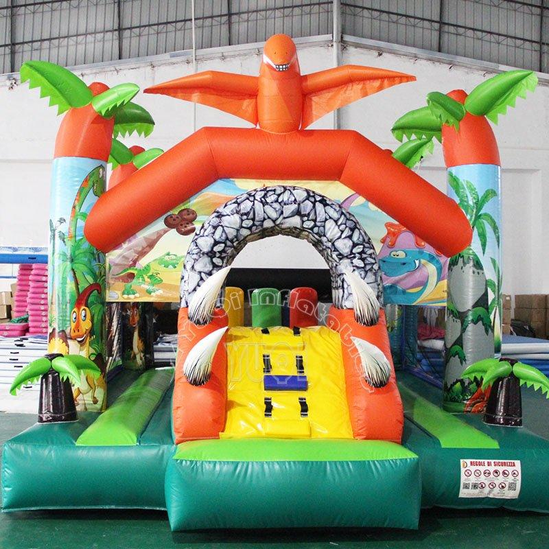 Dinosaur theme inflatable bouncer for kids YQ8