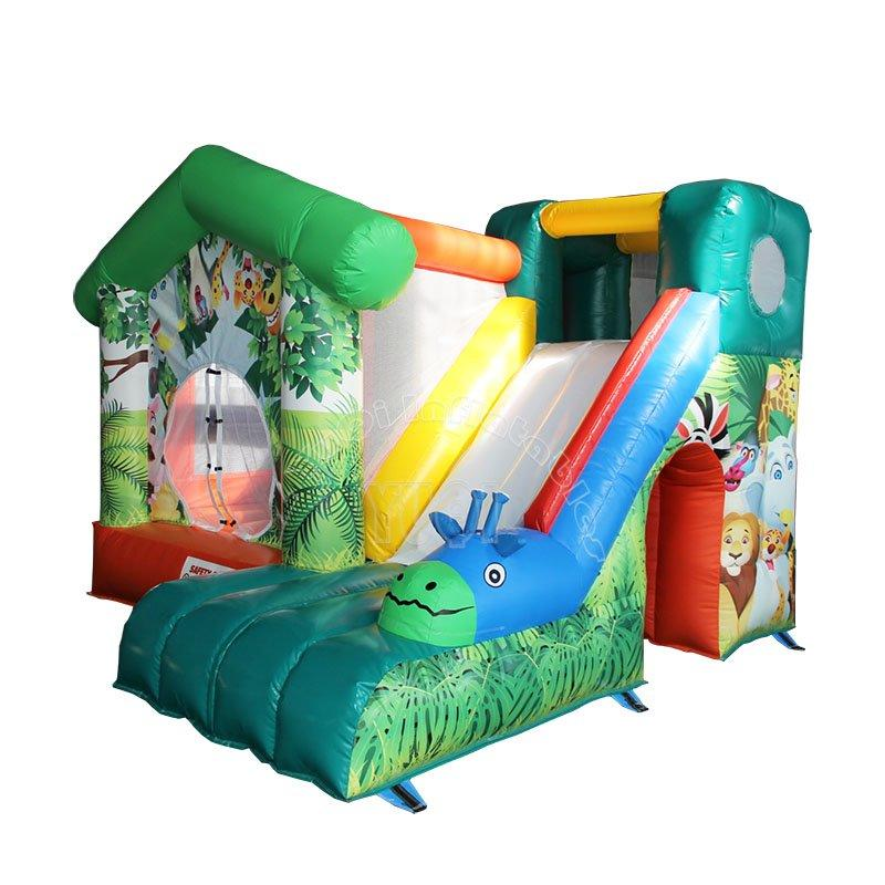Popular Animal theme bounce house inflatable Bouncer for kids YQ9