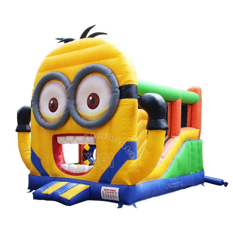 Commercial Minion inflatable jumping castle