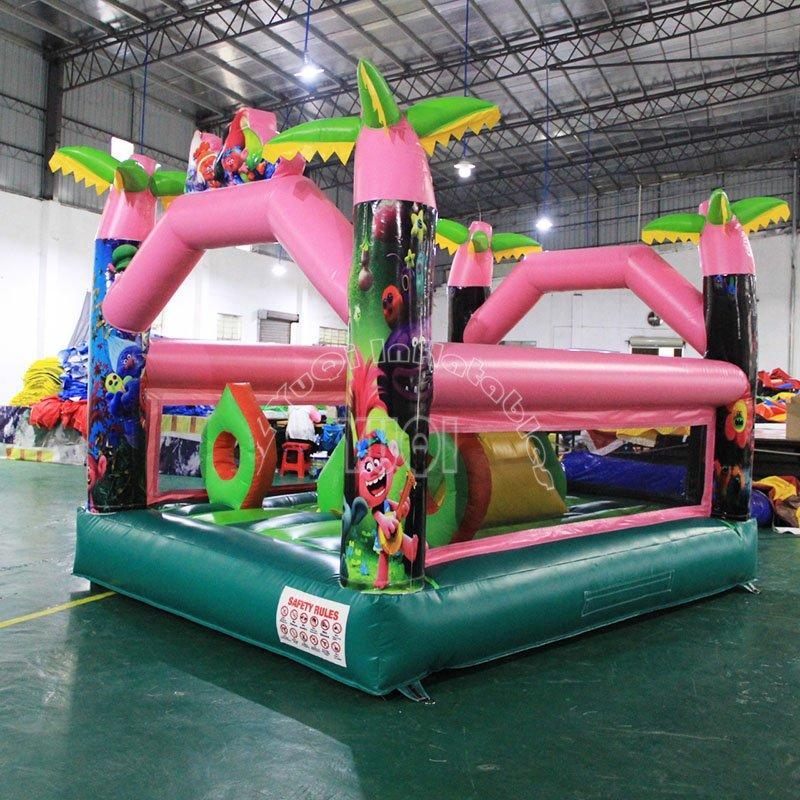 Trolls inflatable bouncer for kids YQ6