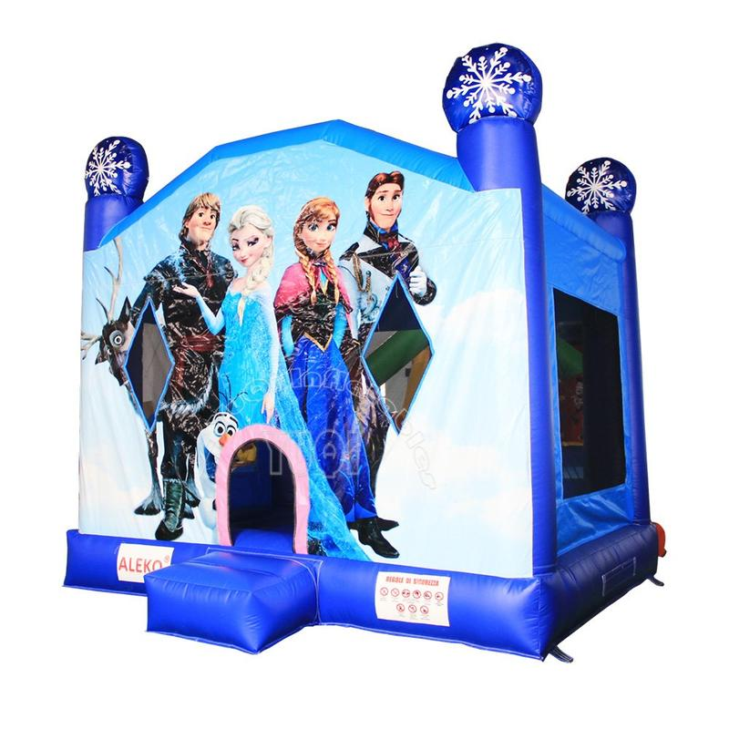 Summer Crazy frozen digital printing inflatable bouncer for kids YQ10