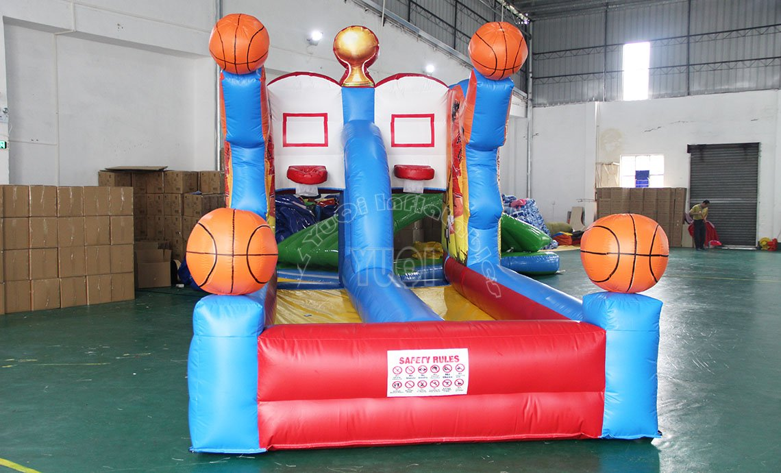 YUQI-Best Price Inflatable Game For Kids, Yq64 Basketball Game