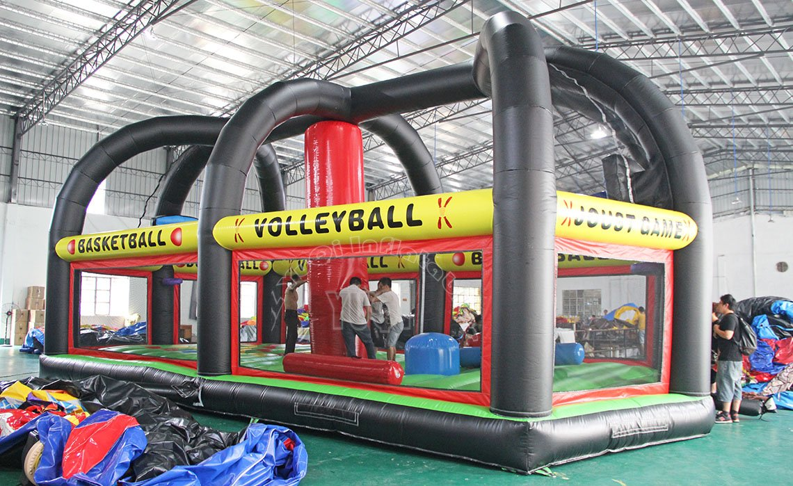 YUQI-New Design Sport Games Inflatable Sport Funny Adult Ball Games