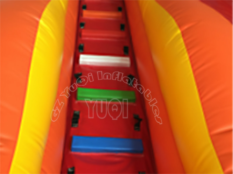 YUQI-Yq323 Pvc Tarpaulin Double Lane Bouncy Inflatable Slide-4
