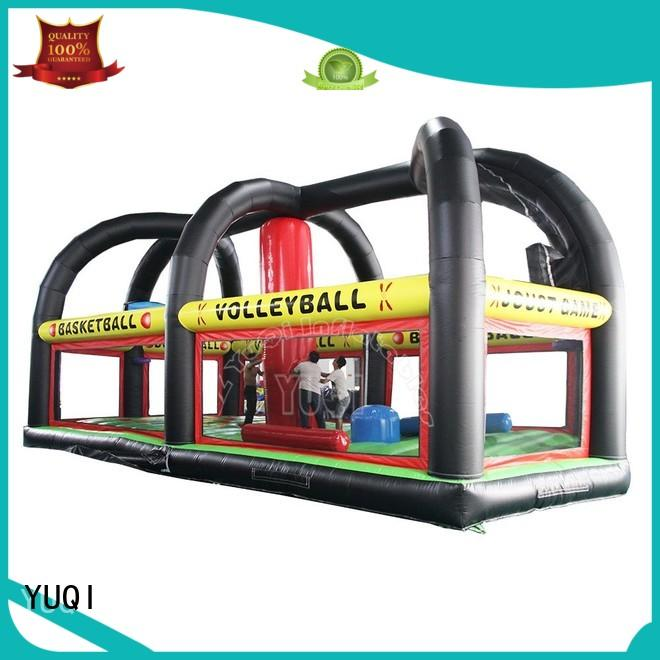 funny kids sport YUQI Brand inflatable games for adults manufacture