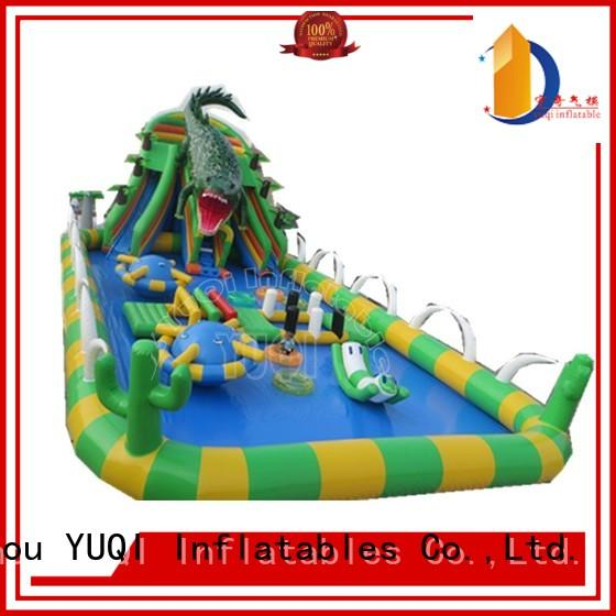 quality kid inflatable park summer YUQI Brand company