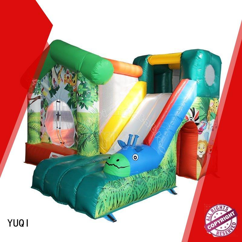YUQI Latest farm bounce house manufacturers for schools