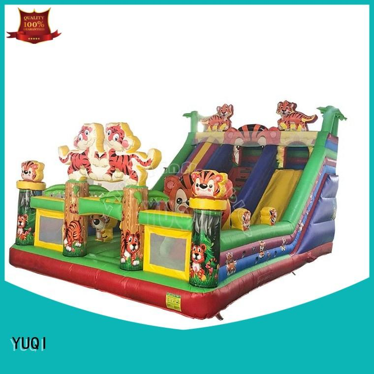 YUQI durable inflatable amusement park supplier for adult