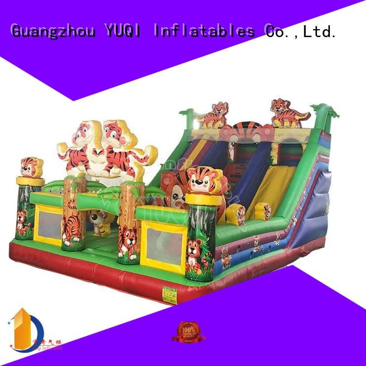 slide inflatable theme park mickey YUQI company