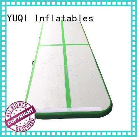 YUQI safety air track mat series for park