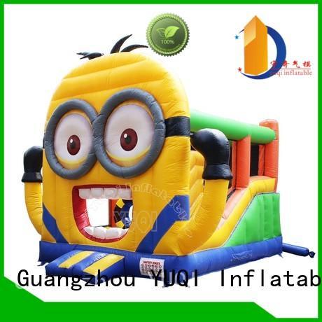 water slide bounce house for adults clown cute YUQI Brand