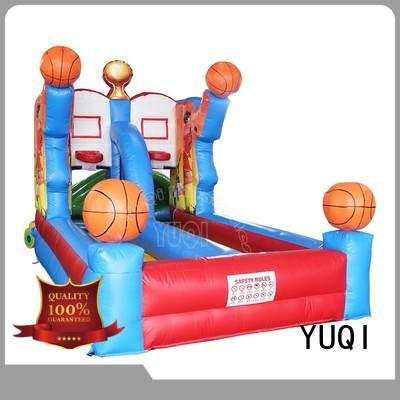 YUQI Latest blow up slide factory for birthday parties