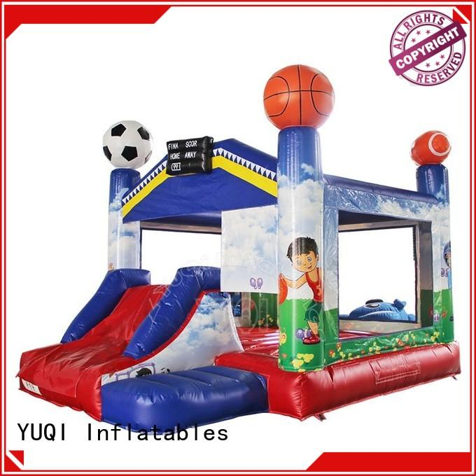 YUQI high quality cow bounce house customization for festivals