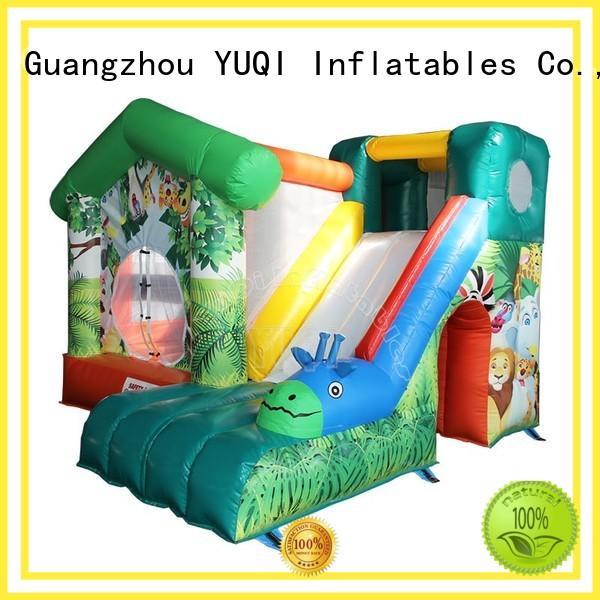 Hot water slide bounce house for adults cartoon YUQI Brand