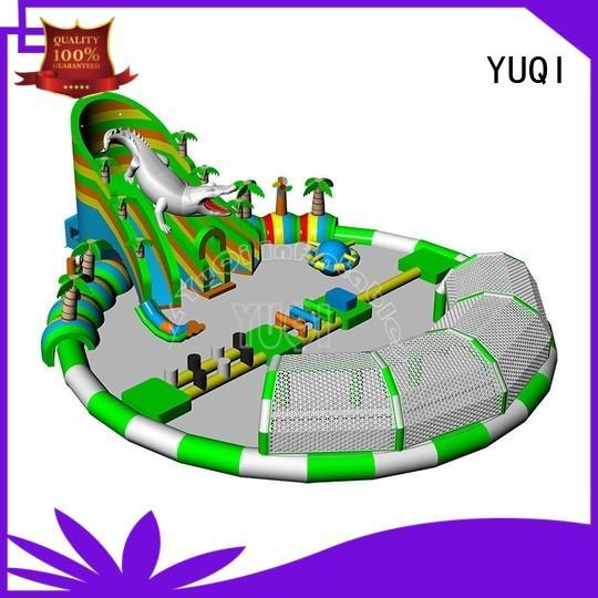 YUQI High-quality inflatable splash park Supply for kid