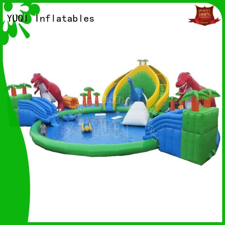 YUQI large intex play center manufacturer for kid