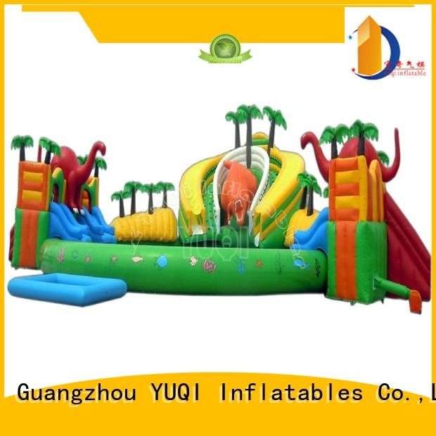 price giant YUQI Brand kids inflatable water park