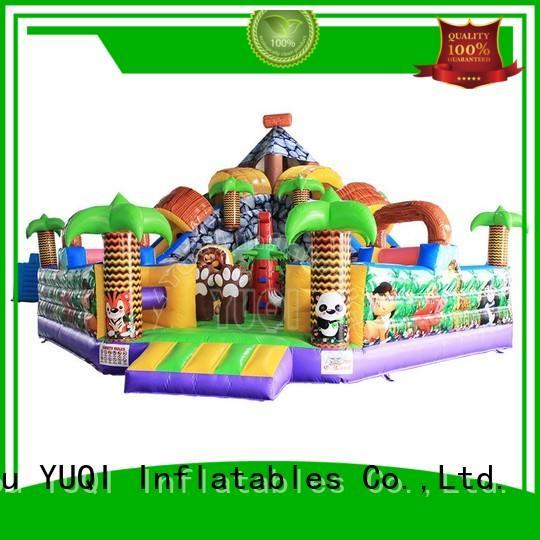 YUQI Brand fun playground animal inflatable amusement park manufacture