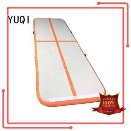 YUQI tumbling tumble track trampoline wholesale for park