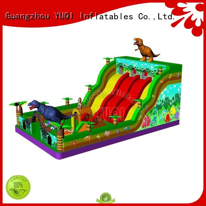 waterproof pvc inflatable theme park YUQI Brand
