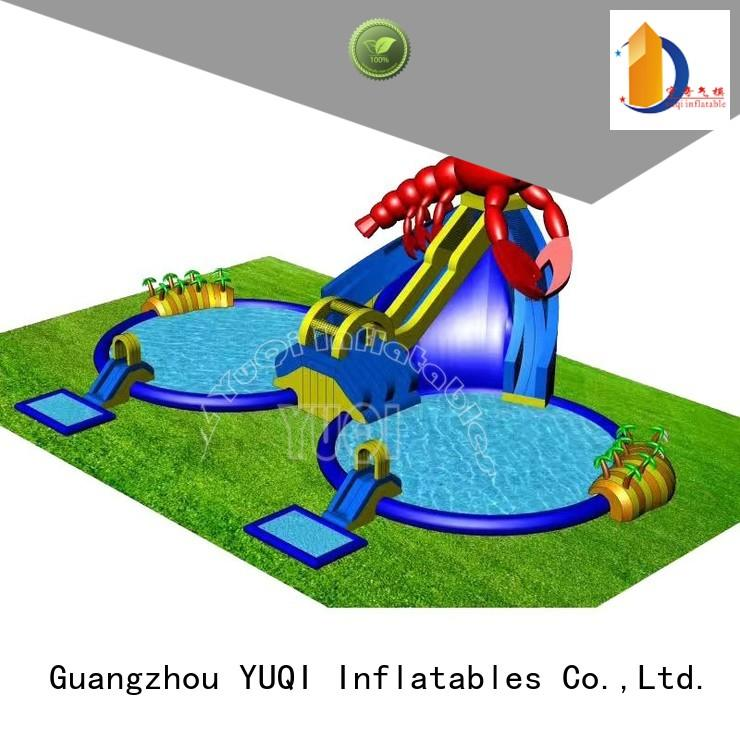 YUQI Brand funny kids custom kids inflatable water park