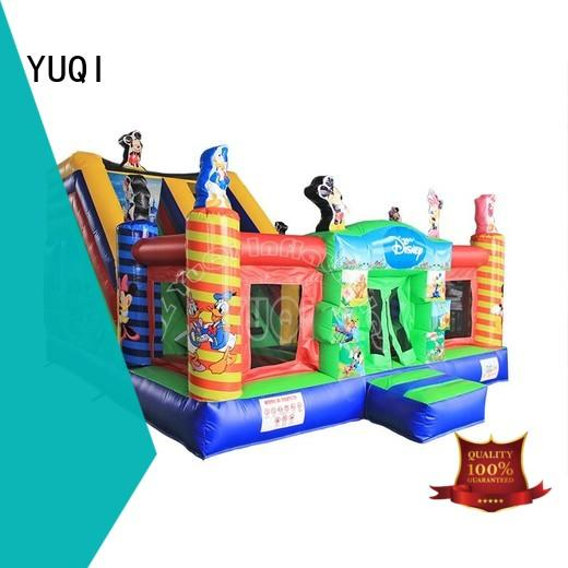 YUQI tiger inflatable water products wholesale for birthday parties