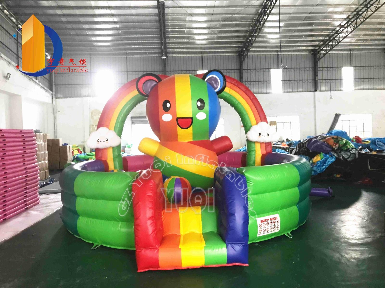 YUQI-Read YUQI Rainbow bear Inflatable bouncer News On Yuqi Inflatables