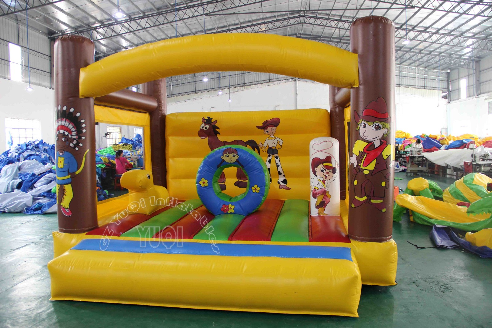 YUQI-Best Quality Blow Up Bounce House Jumping Castle