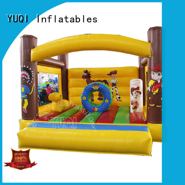 YUQI safety moonwalk rentals company for birthday parties