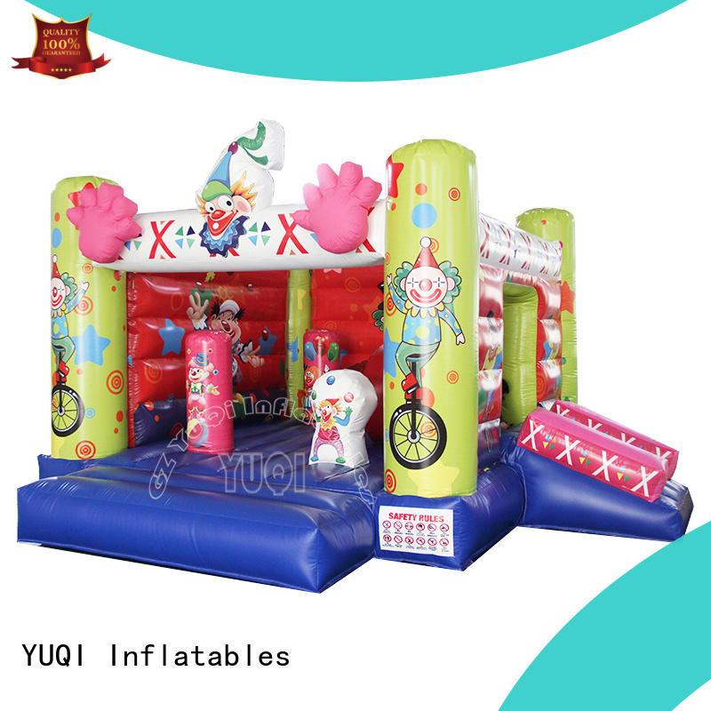 YUQI beautiful bounce house manufacturers supplier for adult