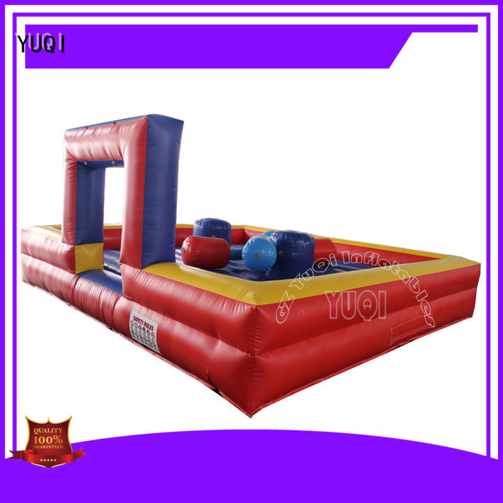 Latest inflatable soccer game pvc manufacturer for adult