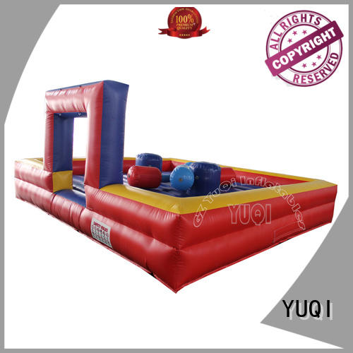 YUQI Brand kids sport inflatable games for adults basketball
