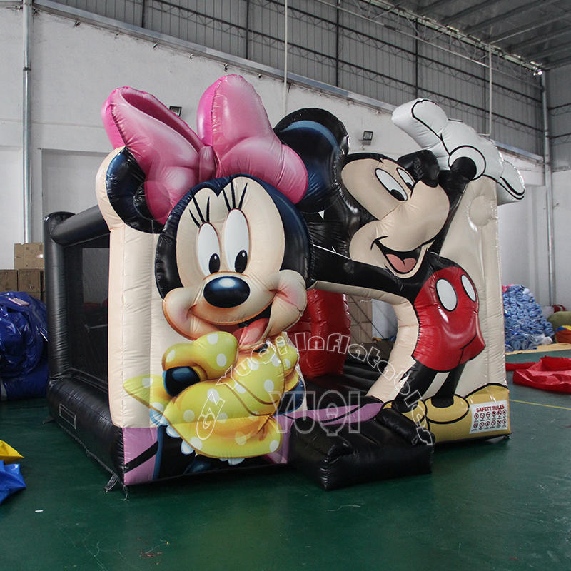 YQ46 Lovely Mickey mouse inflatable bouncer for kids