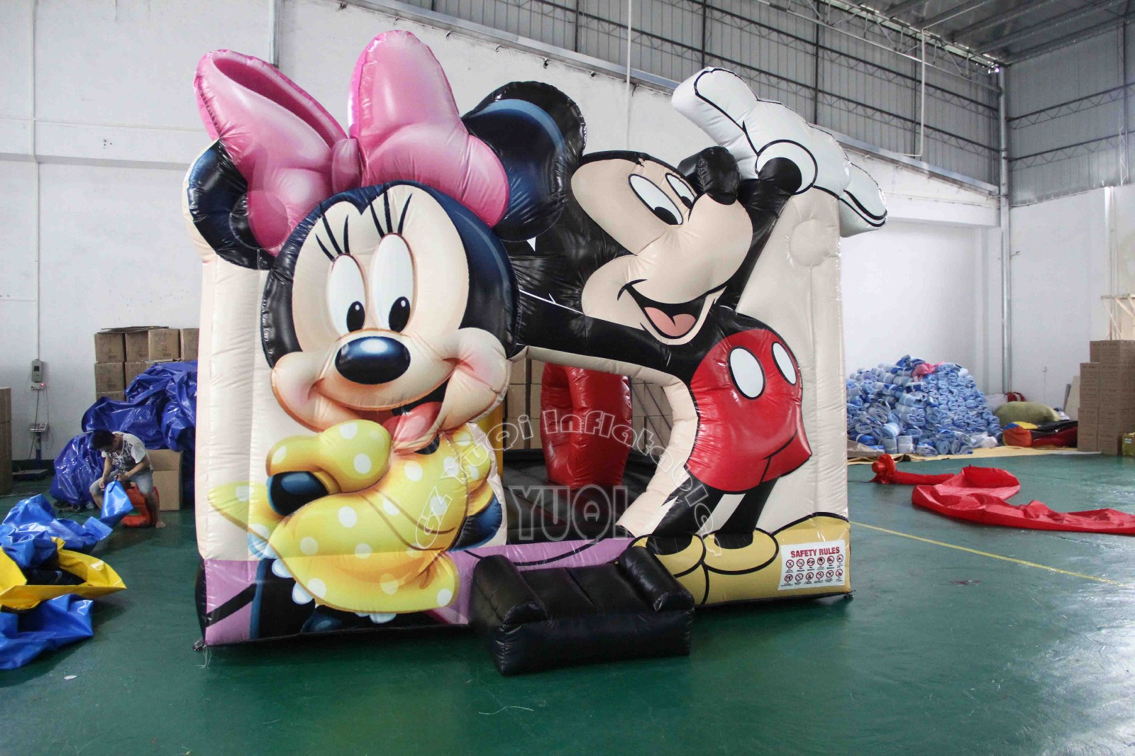 YUQI-Yq46 Lovely Mickey Mouse Inflatable Bounce House For Sale
